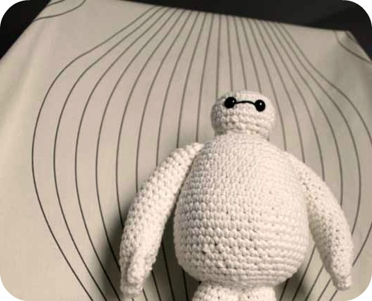 Baymax Looking Down