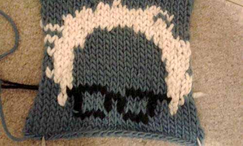 Knitted Bernie Sanders by mustknit
