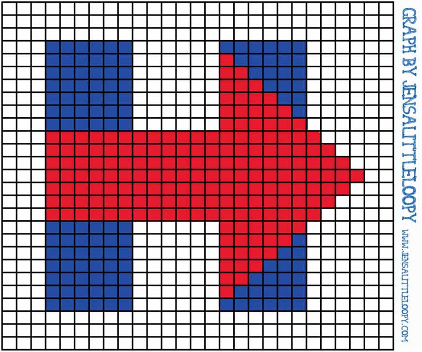 I'm With Hillary Clinton – FREE Crochet (or Knitting or Crafting) 8 Bit Chart!