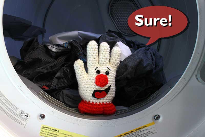 Hamburger Helper Helping with Laundry