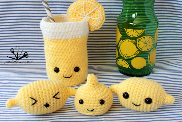 Feeling sour? Turn those lemons into lemonade with this pattern by Jensalittleloopy