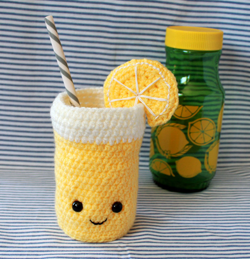 Feeling sour? Turn those lemons into lemonade with this pattern by Jensalittleloopy!