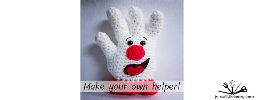Free Crochet Hamburger Helper Pattern