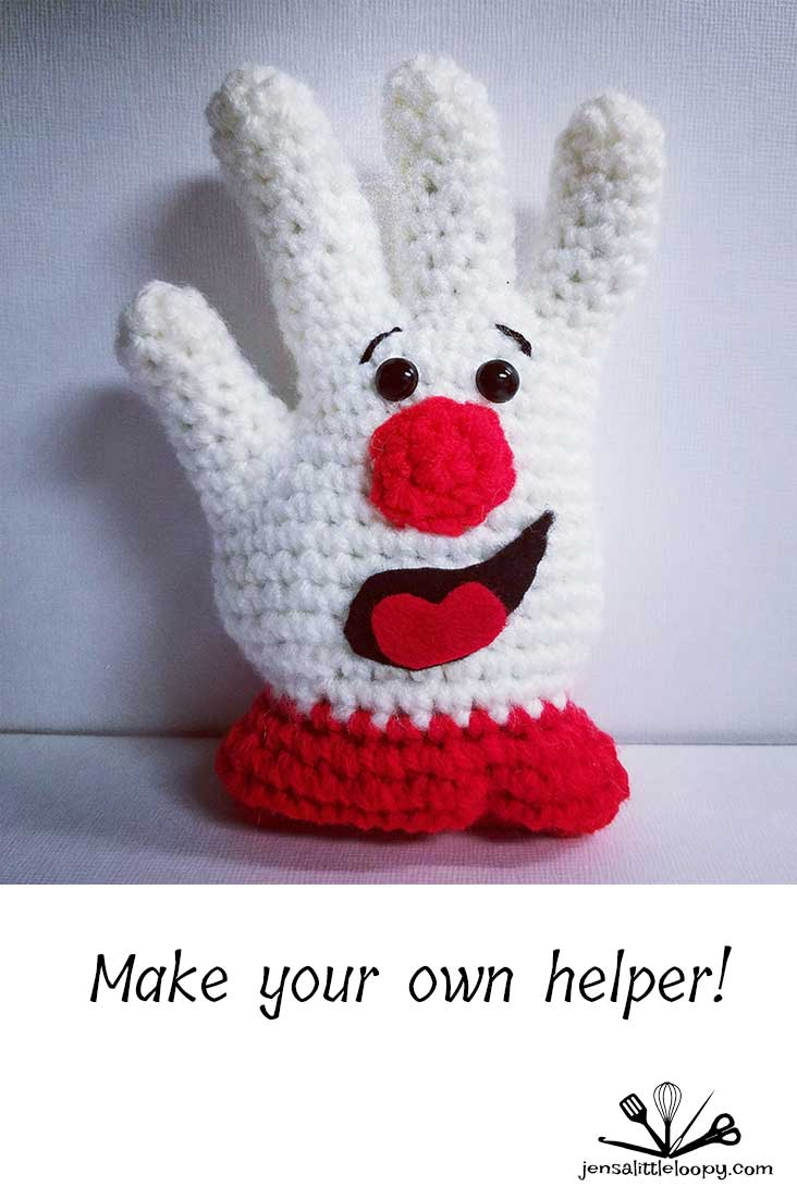 Make your own crochet Hamburger Helper with this free pattern!