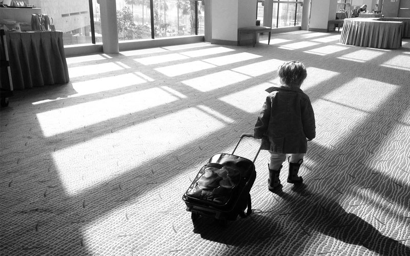 What to do when your five-year-old packs his bags and says he's going to run away. Hint: Don't panic.
