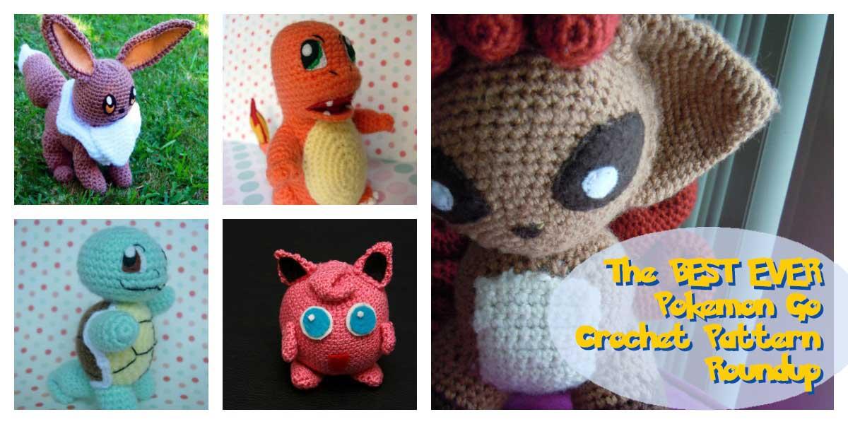 11 x Crochet Pattern Pokemon GO [Free] | Styles Idea | 600x1200