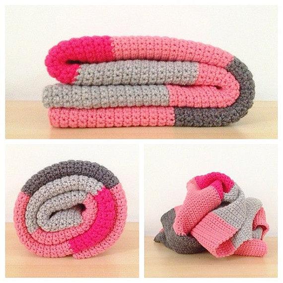 color-block-baby-blanket