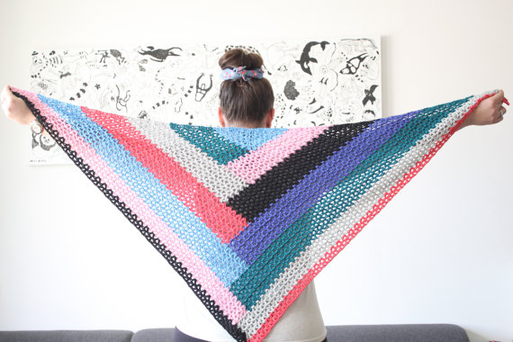 color-block-shawl