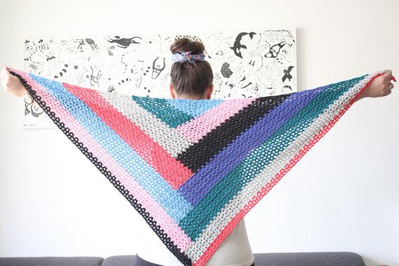 color-block-shawl