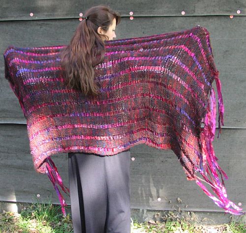 Bob and Weave Super Scarf Pattern