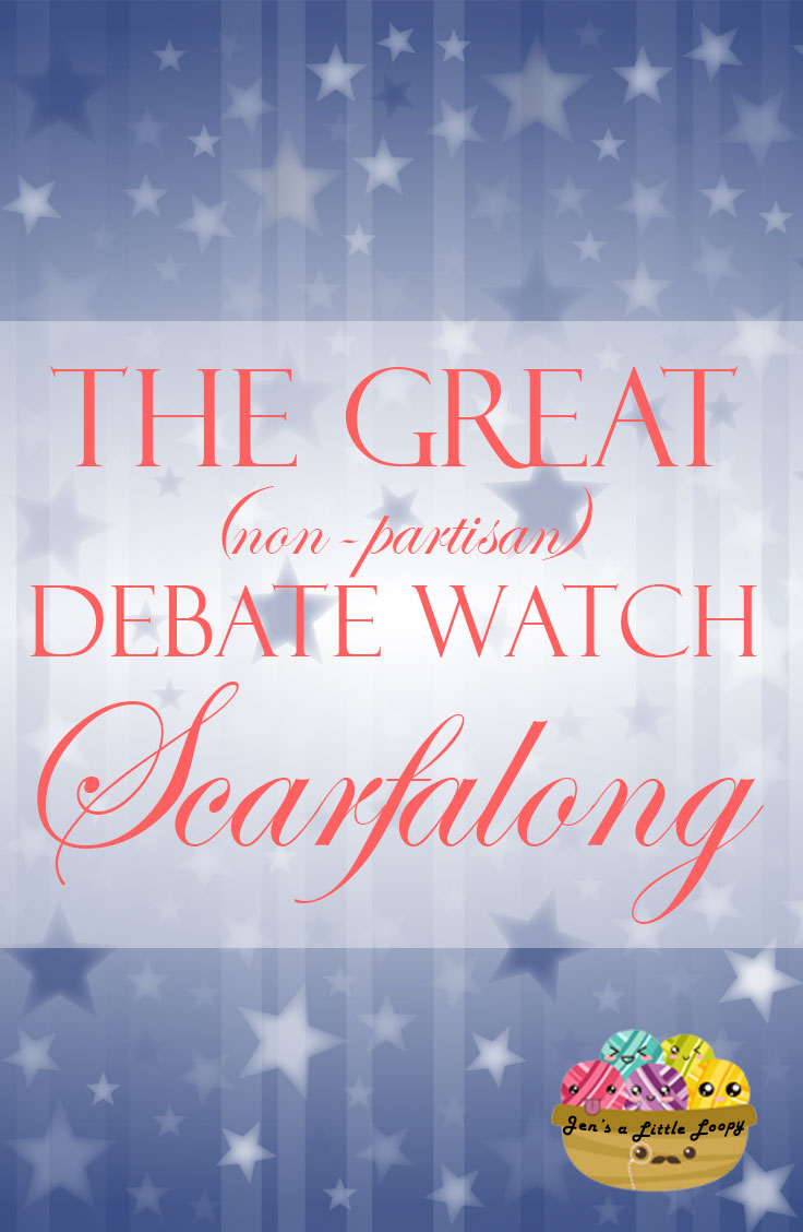Join us for the Great (non-partisan) Debate Watch Scarfalong!