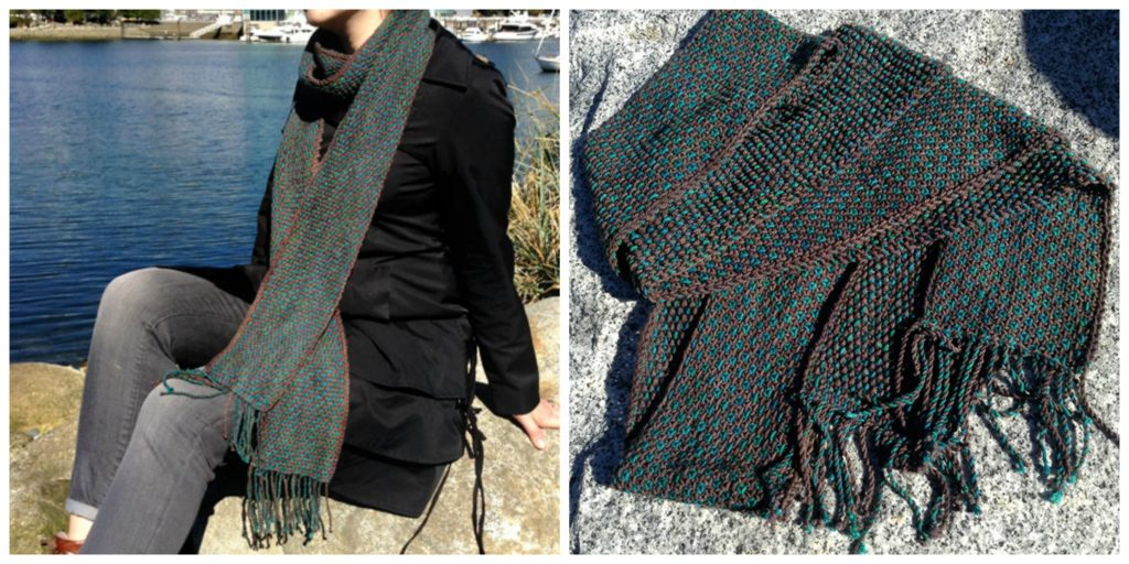 Hexadot Super Scarf Pattern