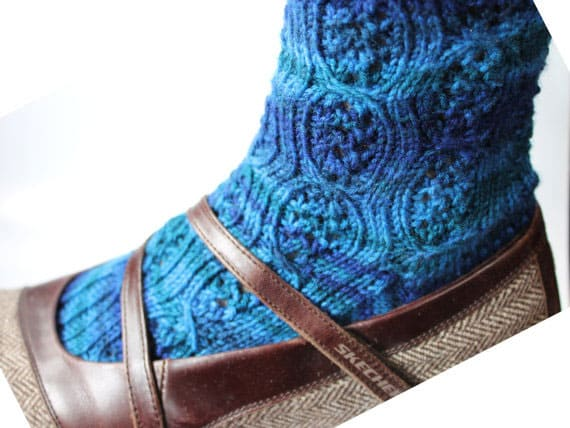 7 Sock Patterns to Knit for Toasty Toesies