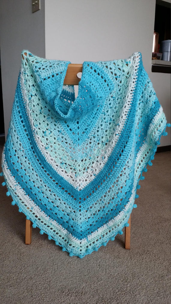 Sugarwheel Pattern Ideas - Triangle Shawl