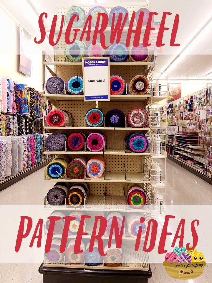 Sugarwheel Pattern Ideas - Crochet | Jen's a Little Loopy