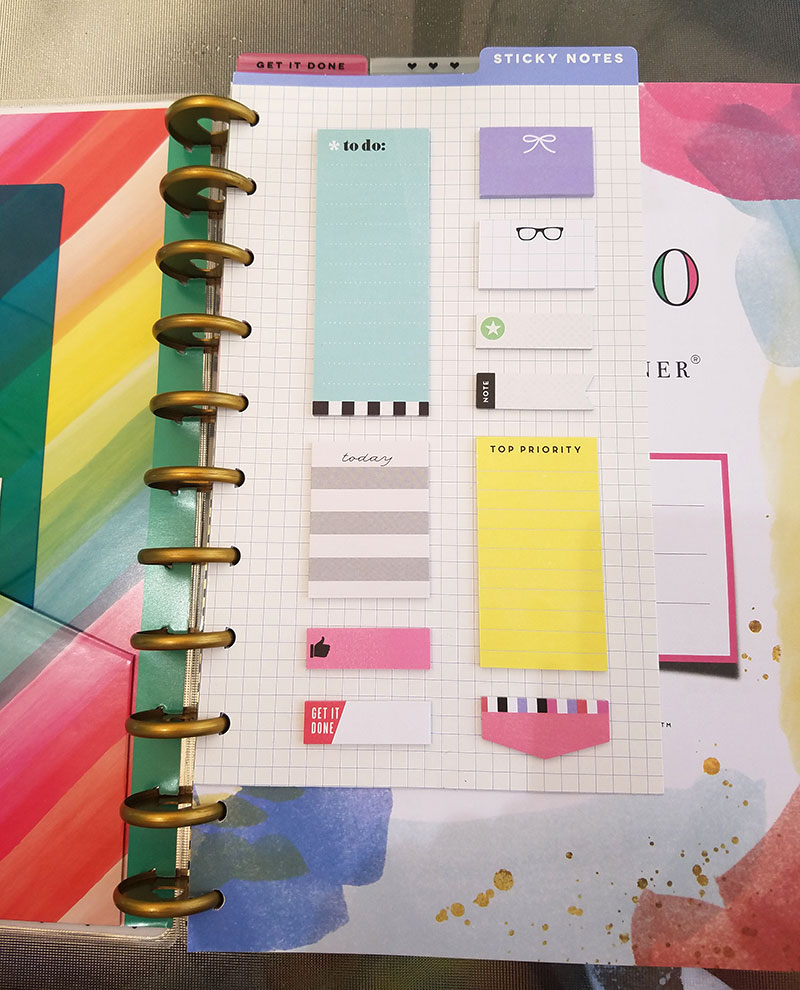 The BIG Happy Planner Post It