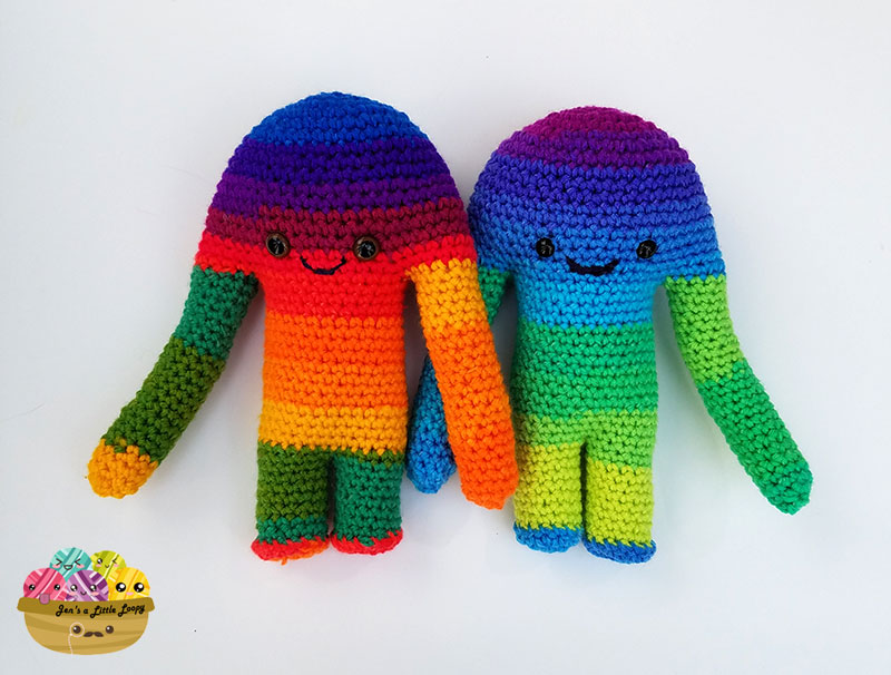 Free Hugamonster Crochet Monster Pattern