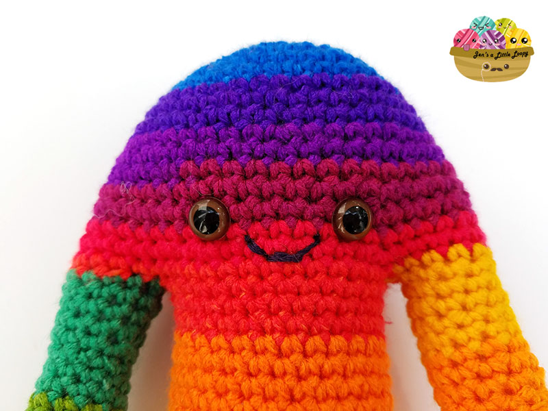 Hugamonster Crochet Monster Pattern