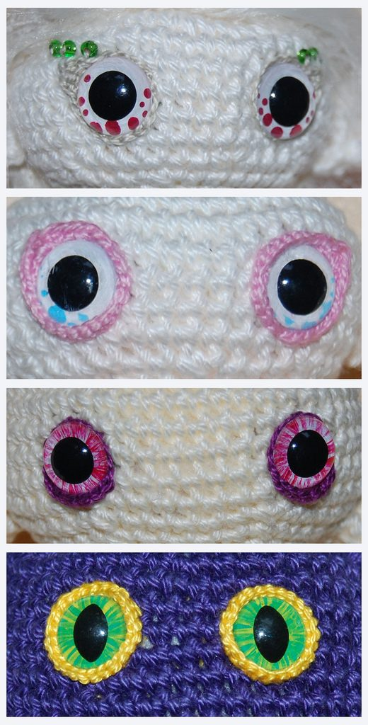 How to Hand Embroider eyes for Amigurumi Crochet Doll Mermaid ... | 1024x520