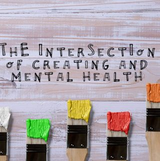 The intersection of creating and mental health