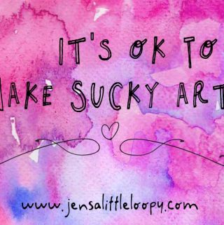 its ok to make sucky art