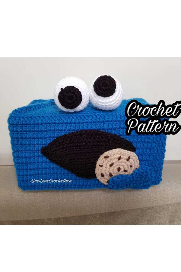 Ravelry: Amigurumi Tiny Cookie Monster pattern by AmyMamy Creations | 900x600