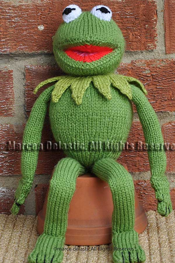 Free Crochet Pattern for Kermit the Frog!! | 900x600