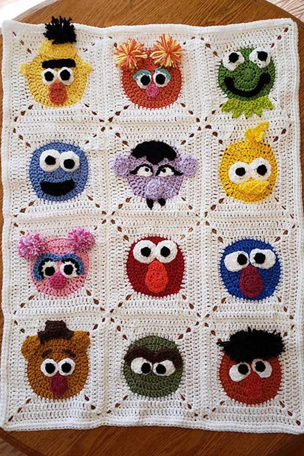 Elmo | AllFreeCrochet.com | 900x600