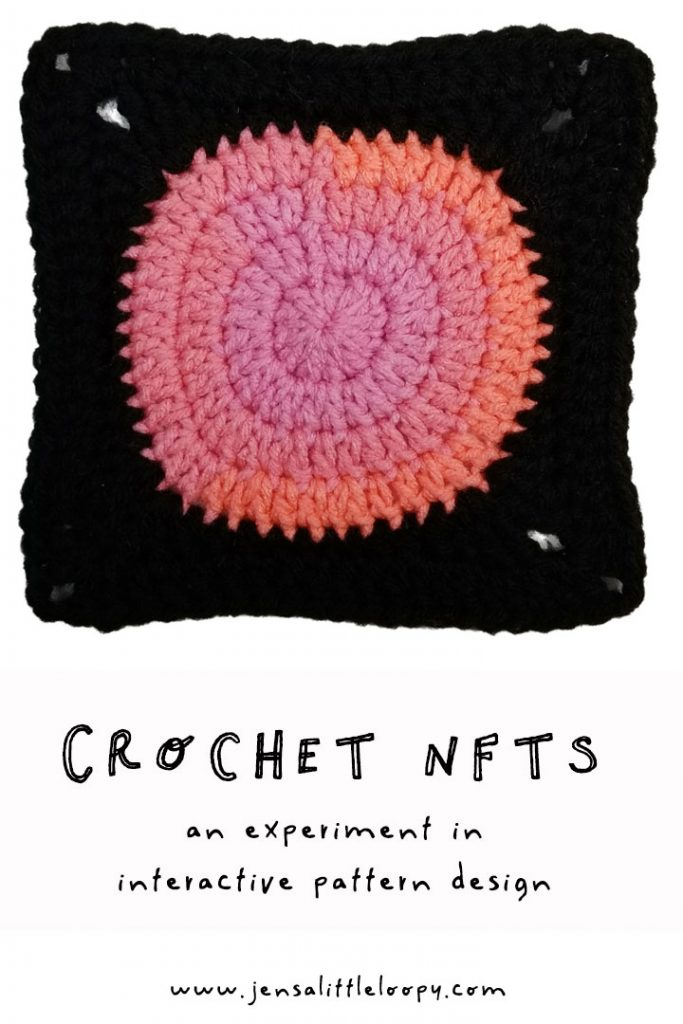 Can you sell a crochet blanket one square at a time? I'm experimenting with NFTs (aka cryptoart) to see if it's possible! #crochetblanket #NFTs #cryptoart #crochet